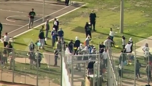 Article image for More than a dozen people arrested over Metropolitan Remand Centre riot