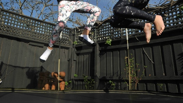 Article image for The dangers of trampolines for kids