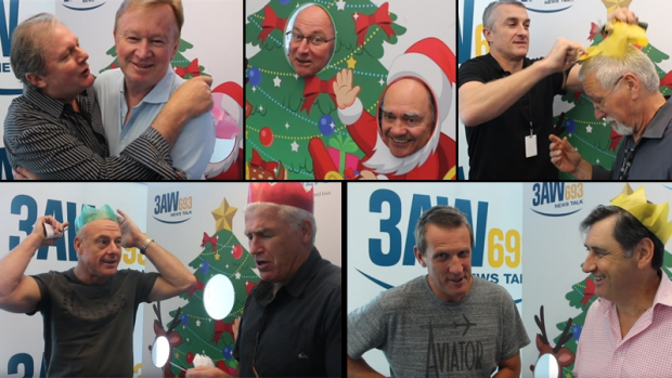 Article image for The Bon-Bon Videos: Christmas greetings from 3AW