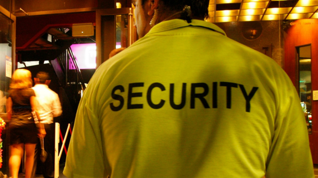 Article image for Four-year-old hugs the security guard trying to search him