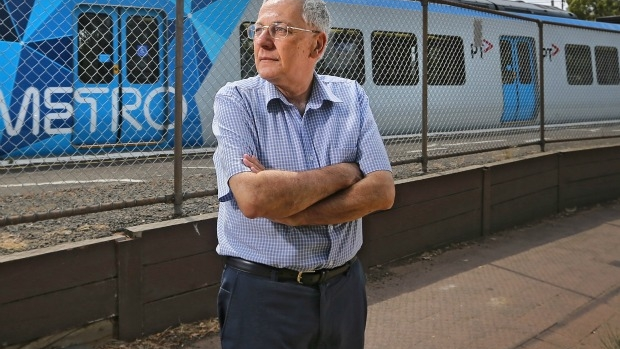 Article image for 24-hour hell: All-night trains are keeping Northcote's Harry Blutstein awake
