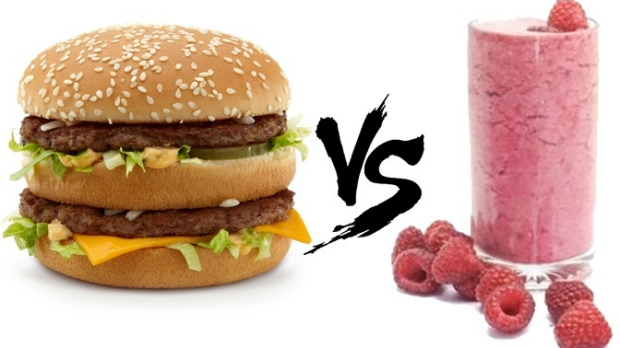 Article image for Food fight: the smoothie with more kilojoules than a Big Mac