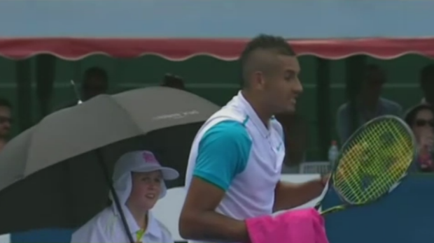 Article image for Kyrgios 'needs professional help'