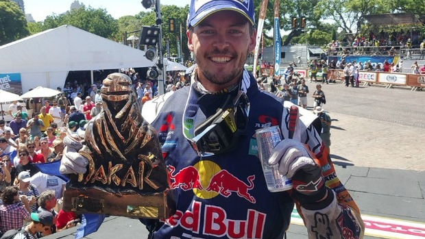 Article image for Dakar Rally winner Toby Price chats with Neil Mitchell after historic win