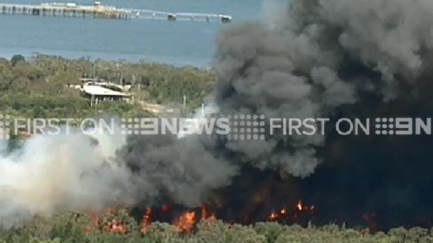 Article image for Two homes lost in Crib Point fire