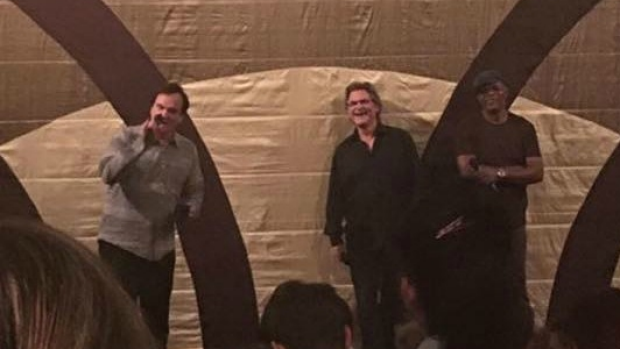 Article image for Quentin Tarantino, Samuel L. Jackson and Kurt Russell at Sun Theatre, Yarraville
