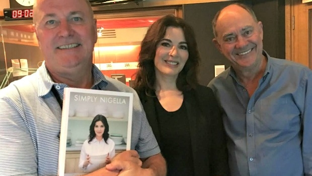 Article image for Nigella Lawson with Ross and John