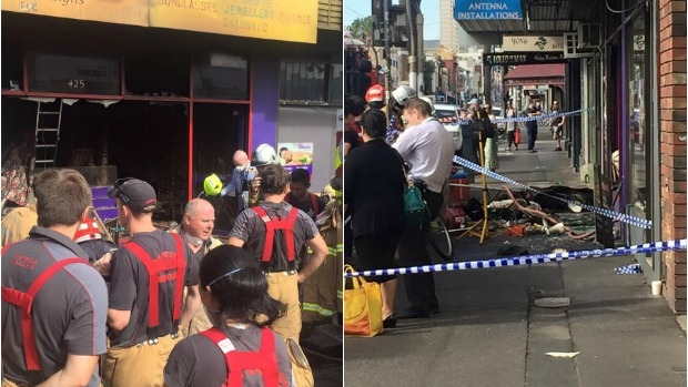 Article image for Fitzroy fire: Body found in Brunswick Street job