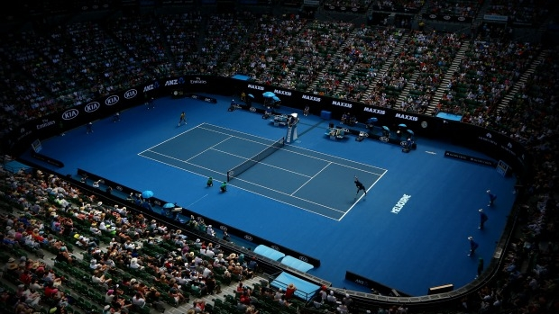 Article image for Tennis Australia president Steve Healy wants spot betting banned