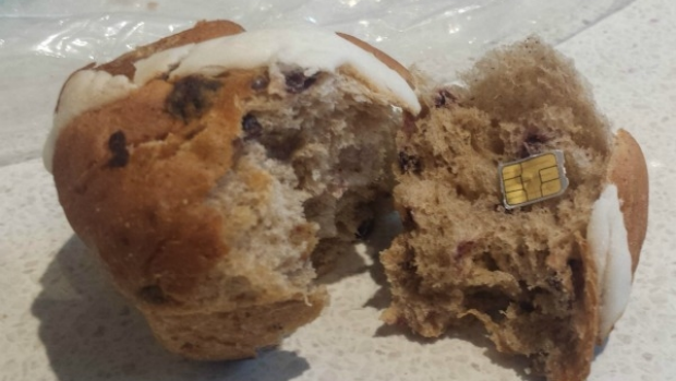 Article image for Confirmed: Sim card found in muffin stunt