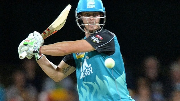 Article image for Brisbane Heat captain Chris Lynn named Player of BBL05