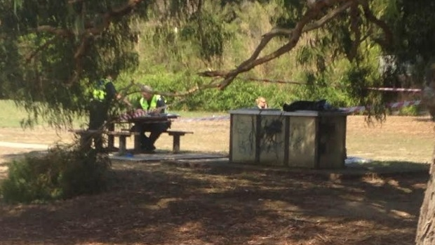 Article image for Decapitated kangaroo left cooking on public barbecue at Diamond Creek