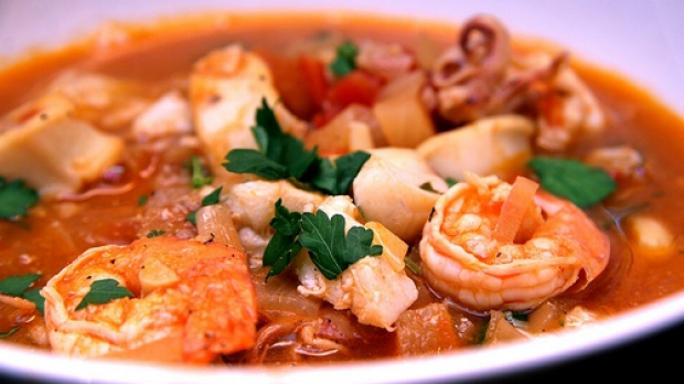 Article image for 3AW Afternoons: Tobie Puttock's recipe for Seafood Soup