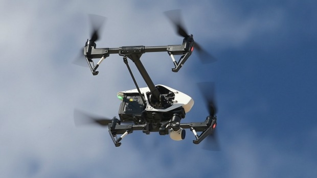 Article image for CASA investigating near miss between helicopter and drone