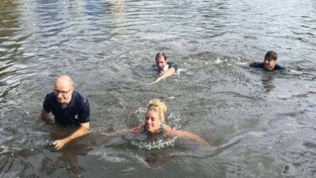 Article image for Angelique Kerber broke the law with Yarra swim after Australian Open win: LSV