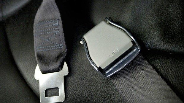 Article image for Libby fined after being caught not wearing seatbelt in car park