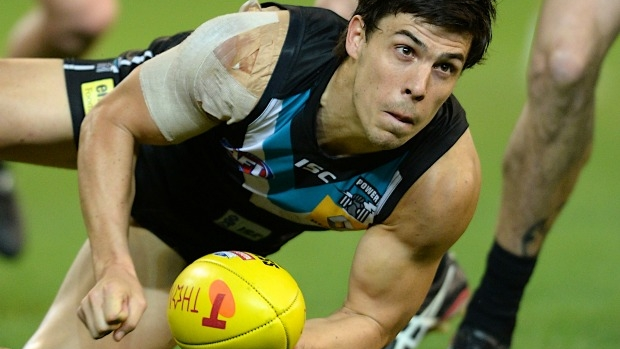 Article image for Port Adelaide 'disappointed' with AFL over top-up player refusal