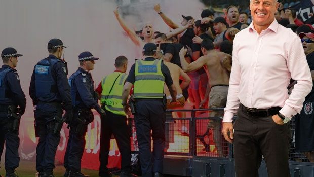 Article image for Dwayne Russell's impassioned plea to soccer fans on 3AW