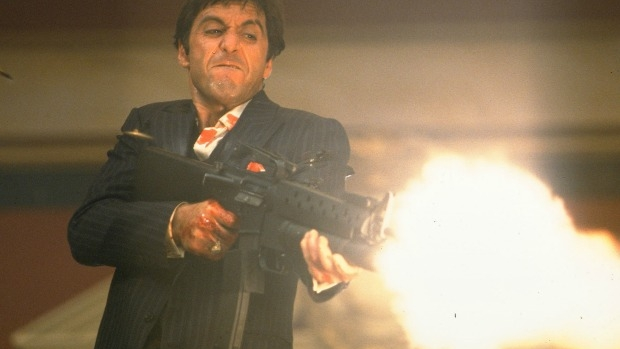 Article image for Scarface most commonly stolen film from video stores