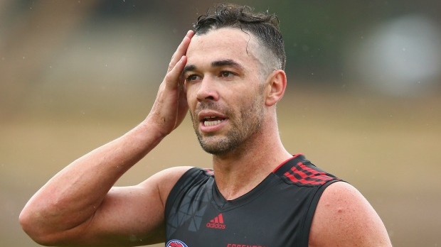 Article image for Essendon 'unlikely' to recruit any more top-up players, says Sam McClure