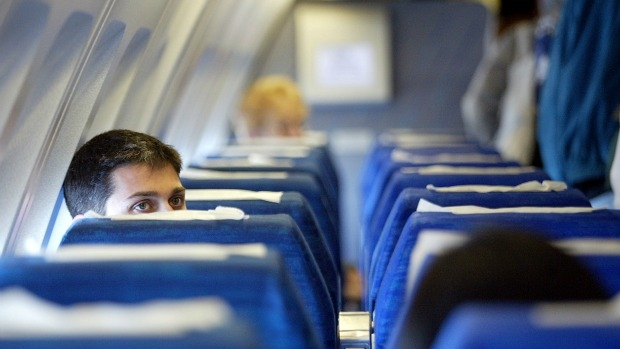 Article image for Great debate: is it OK to recline on a plane?