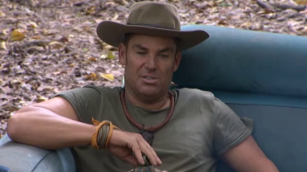 Article image for Shane Warne allowed cigarettes while in the jungle
