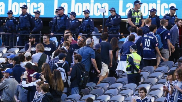 Article image for Michael Lynch says issues with soccer crowds run deeper than the game