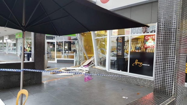 Article image for ATM pinched in Bundoora ram raid