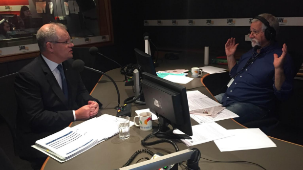 Article image for Full interview: Treasurer Scott Morrison in the studio with Neil Mitchell