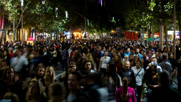 Article image for Lord Mayor Robert Doyle says White Night could soon be Melbourne's 'biggest' event
