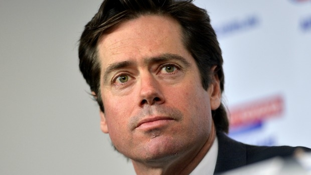 Article image for Interview between Tim Lane and Gillon McLachlan gets VERY awkward