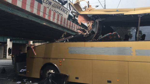 Article image for Montague St bus crash aftermath: Gold Bus's PR disaster