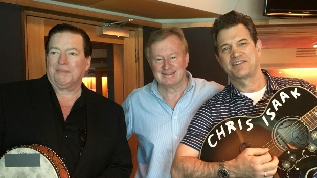 Article image for Chris Isaak sings for Denis Walter