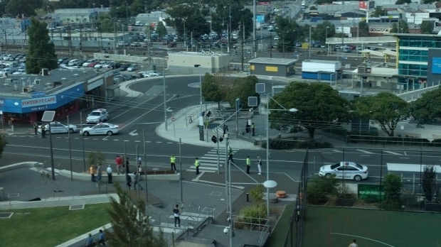 Article image for Dandenong train station evacuated, bomb squad attends