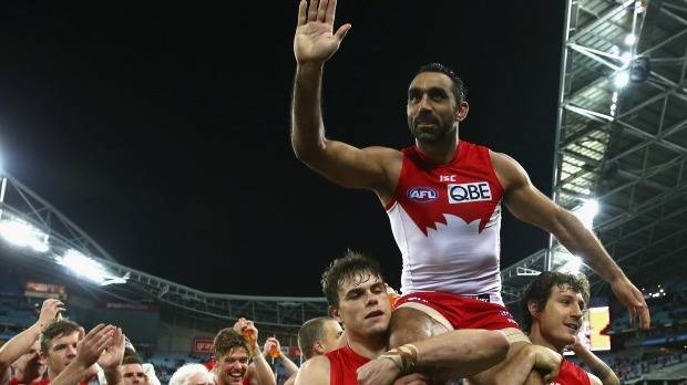 Article image for Sydney boss Andrew Ireland defends ANZ Stadium announcement, denies Adam Goodes is 'avoiding' Collingwood fans