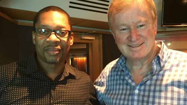 Article image for Jazz 'prince' Ravi Coltrane in studio with Denis Walter