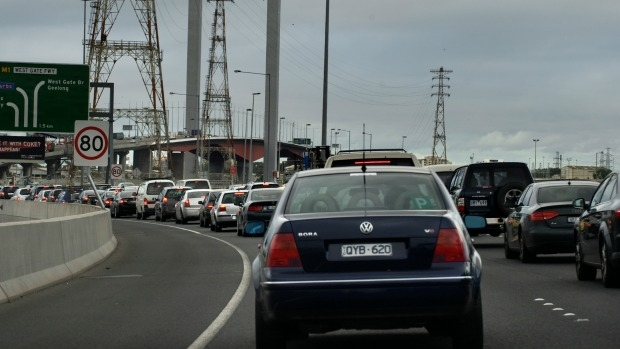Article image for Works to commence on Bolte Bridge and West Gate freeway, causing added delays