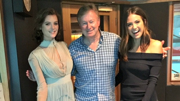 Article image for Jesinta Campbell and Montana Cox in studio with Denis Walter