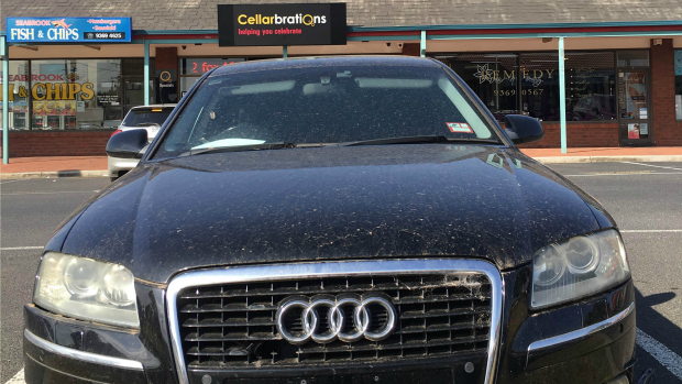 Article image for $30,000 car abandoned in Seabrook car park