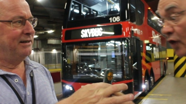 Article image for VIDEO: Ross and John take the SkyBus to Melbourne Airport