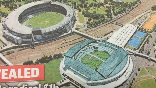 Article image for RUMOUR CONFIRMED: Plan to demolish Etihad Stadium, build new venue near MCG