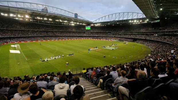 Article image for Liberal member says new stadium should be built near Melbourne airport