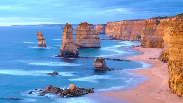Article image for Five more 'Apostles' discovered off coast of Port Campbell