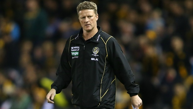 Article image for Furious Hardwick asks AFL to end game early