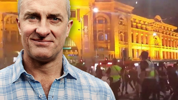 Article image for Tom Elliott 'disgusted' by CBD riots