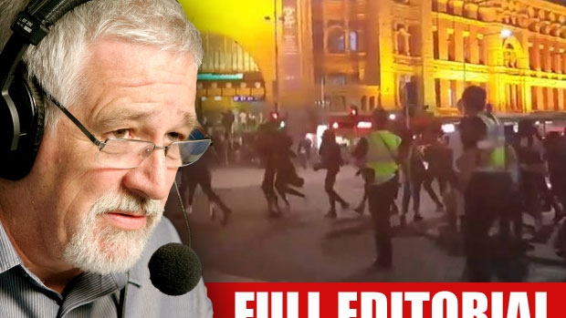 Article image for Neil Mitchell hits out at handling of CBD riots, says police 'too scared' of being accused of racial profiling