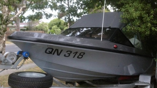 Article image for Stolen boat at Carrum Downs had mate's ashes on board
