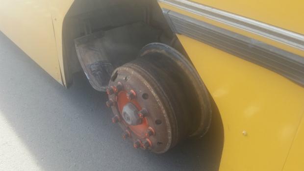 Article image for Bus full of school kids avoids disaster outside of Little River