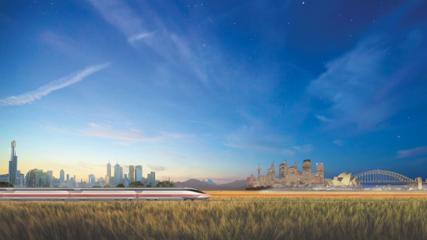 Article image for New fast rail from Melbourne to Sydney on the horizon