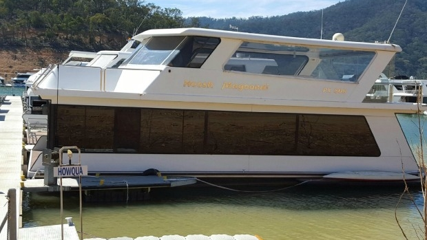 Article image for 3AW Breakfast loves this boat at Lake Eildon